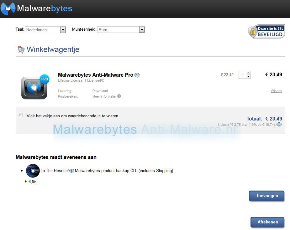 Malwarebytes Anti-Malware bestellen