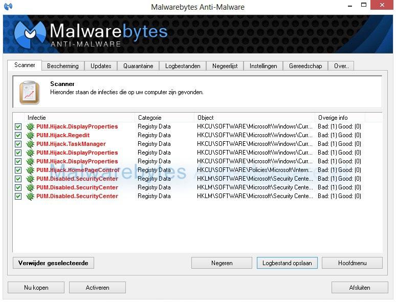 Malwarebytes Anti-malware PUM