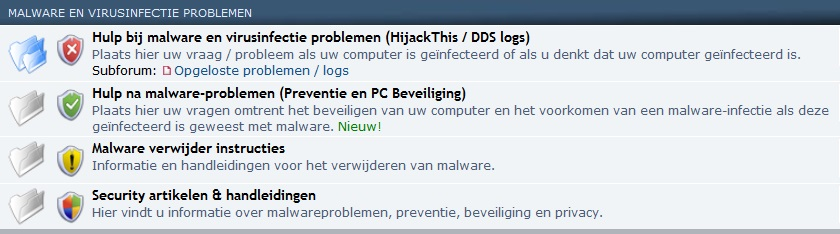 Politie virus verwijderen - computerforum PC Web Plus